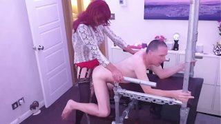 Getting my ass fucked bareback by sexy Top TGirl Gigi
