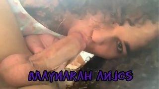 Maynarah Anjos (Morena Tatuada )- Trans novinha caprichando no boquete