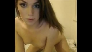 Very Sexy Young Transsexual Playing With Herself